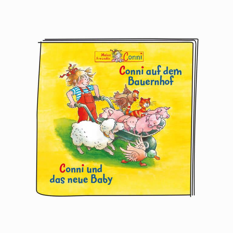 Tonies - Conni, auf dem Bauernhof / Conni und das neue Baby Hörspielfigur