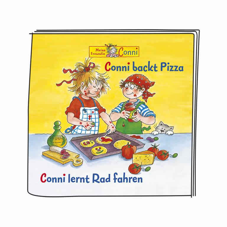 """Booklet - """"Conni backt Pizza"""" und """"Conni lernt Rad fahren"""""""