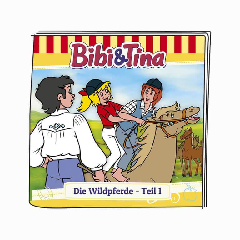 Booklet - Bibi & Tina - Die Wildpferde - Teil 1