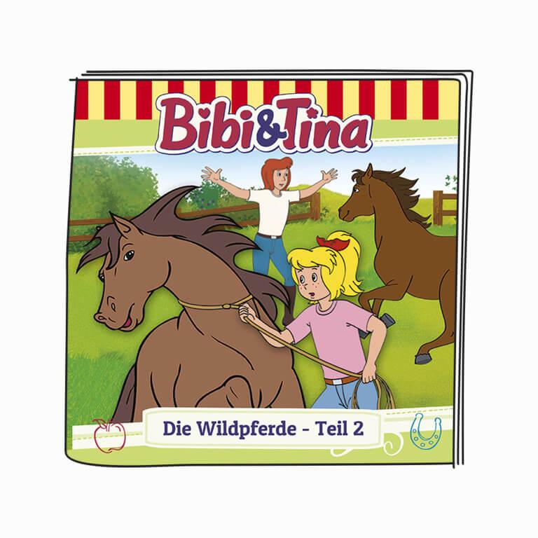 Booklet - Bibi & Tina - Die Wildpferde - Teil 2